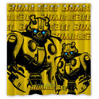 "Buy ""Transformers Bumblebee Custom Shower Curtain Size 60x72 and 66x72"" on EBAY"