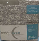 Tranquil Nights Luxury Weight Bedding Microfiber 6-Pcs Sheet Set - Queen, Floral image