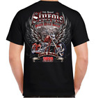 2019 Sturgis Black Hills Rally Rushmore Wings Short Sleeves T-Shirt  image