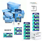 Genuine Renata & Sony Silver Oxide Watch Batteries [ALL SIZES] 0% Mercury