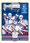 New York Rangers Stanley Cup Poster $6.99 USD on eBay
