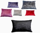 Crushed Velvet FLOOR Cushion Dog Bed Covers ONLY Or With Inners X LARGE 80x120cm