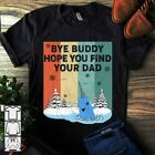 Vintage Style Cute Sword Whale Bye Buddy Hope You Find Men T-Shirt image