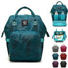 Water Resistant Camo Baby Diaper Bag Backpack Nappy Bag Changing Bag Travel Bag