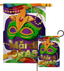 Mardi Gras Mask Impressions Decorative Flag Collection HG118011