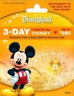 Disneyland and California Adventures 3-Day 1-Park Per Day Ticket!