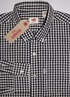 BLACK & WHITE Levi's Long Sleeve Men's Casual Shirt 195860039