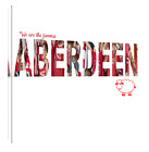 "Aberdeen FC Print or canvas print (35)  Example shown is 10"" framed print £21.50"