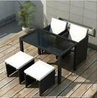 Outdoor Cube Rattan Dining Set Garden Furniture 4/8/10/12 Seater Piano Wicker