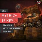 Mythic+ 15 Keystone Master 410+ With Personal / X1 / X2 Loot Within- or No Timer