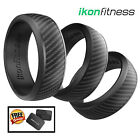 Ikonfitness Silicone Wedding Ring Skin Safe Non-Toxic Antibacterial Rubber Ring