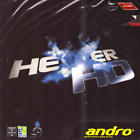 Andro Hexer HD Table Tennis and Ping Pong Rubber, Choose Your Color & Thickness