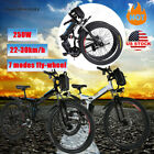 26inch 36V Foldable Electric Mountain Bicycle High Speed E-Bike US HOT
