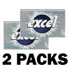Excel Gum 2 12 or 24 Packs Bubble Mint Chlorophyll Polar Winterfresh Wringley's