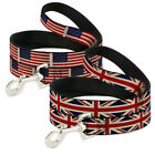 Buckle Down 6 Feet Dog Pet Leash Cat UK Britain USA American Flag Stars Stripes