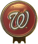 WASHINGTON NATIONALS BASEBALL GOLF BALL MARKER ON HAT CLIP GREAT GIFT IDEA MLB on Ebay