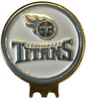TENNESSEE TITANS GOLF BALL MARKER ON HAT CLIP BRASS GIFT IDEA NFL on eBay