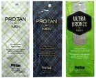 Pro Tan - FOR MEN - SACHETS 3 Types Tanning Accelerator Lotions - Fast Dispatch