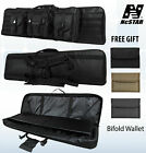 """NcSTAR Tactical 36"""" 42"""" 46"""" 55""""  Padded Double Carbine Rifle Gun Case BagCases - 73938"""