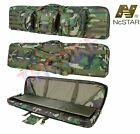 """NcSTAR Tactical 36"""" 42"""" 46"""" 55""""  Padded Double Carbine Rifle Gun Case Bag"""