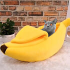 Banana Dog Bed Sofa Kennel Dog House Tent Kitty Cat Bed Pet Supplies Yellow