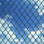 Outdoor Garden Chain Link Fence 15m / 25m Animals Enclosure PVC-coated Wire Mesh