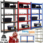 5 Tier Boltless Industrial Warehouse Heavy Duty Rack Metal Shelving Racking Unit