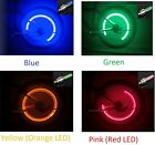 (1)One Pcs FIREFLY Tire Valve Stem CAP LED Light Lamp for Bike Bicycle Car Wheel