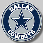 Dallas Cowboys Vinyl Sticker Decal NFL Football Car Truck windows