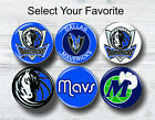 "Dallas Mavericks Buttons 1.25"" NBA Team Hat Shirt Jersey Pins Patch Collectible"