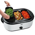 Oster® Roaster Oven with Buffet Server, 18-Quart CKSTRS71-MASTER photo