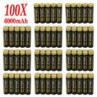 Lot Garberiel 6000mAh 18650 3.7V Li-ion Rechargeable Battery Cell For led Torch