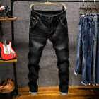 2019 New Fashion Boutique Stretch Casual Mens Jeans   Skinny Jeans Men Straight