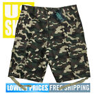 Original Deluxe Men's NWT 6-Pocket Green Camo 100% Cotton Cargo Shorts size 30