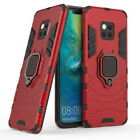 For Huawei Mate 20 Play 8X Magnetic Ring Stand Holder Hybrid Armor Case Cover