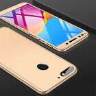 For Huawei Honor 8X 9 10 20 Lite 360 Full Protect Hard Case Cover+Tempered Glass