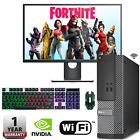 Fast Gaming Dell Pc Computer Bundle I3 I5 I7 8gb 240gb Ssd Windows 10 Gt 710