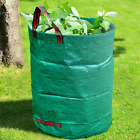 GroundMaster 200L Round Garden Waste Bags - Heavy Duty Professional Refuse Sacks