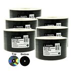 Ridata Black CD-R CDR 48X 700MB 80Min Shiny Silver Thermal Blank Recordable Disc