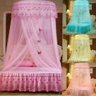 Princess Round Dome Mosquito Lace Canopy Hung Bed Insect Nets Curtain Home Decor image
