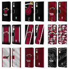 OFFICIAL NBA MIAMI HEAT LEATHER BOOK WALLET CASE FOR HUAWEI PHONES on eBay
