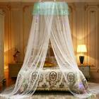 Polyester Princess Dome Mosquito Net Mesh Bed Canopy Home Bedroom Decor image