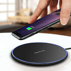 FDGAO 10W Qi Wireless Charger Charging Dock Mat Pad For Samsung S10+ S10 S9 S8