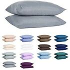 Soft And Silky 1 Pair Pillowcases (2 Quantity) 800 Thread Count 100% Pure Cotton image