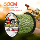 8 Strands 100/300/500m Multifilament Line Mixed Color Spot Braided Fishing line