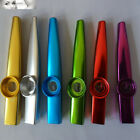 High-Quality Metal Kazoo Harmonica Mouth Flute Kid Party Gift Musical Instrument
