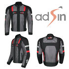 Summer Mens Mesh Air Vent Motorcycle Motorbike Armour Jacket CE Protector