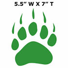 "Bear Claw Logo 7"" Sticker Car Truck Window Decal Souvenir National Parks"