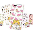 Soft TPU Case for Huawei Honor Lenovo All Models Silicone Matte Back Cover Girl
