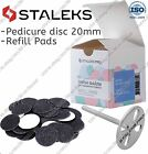 New Staleks Pedicure disc PD-20 Refill pads for pedicure 80 100 180 grit